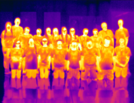 Project HEAT portrait - thermal version